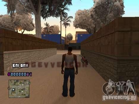 C-HUD Сердце для GTA San Andreas второй скриншот