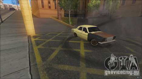 ГАЗ 2410 DRIFT SPL IP для GTA San Andreas вид сзади слева