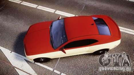 Chevrolet Camaro SS для GTA 4 вид справа