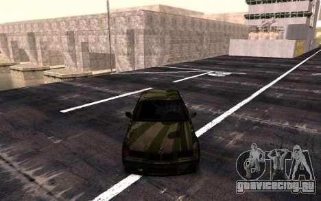 BMW M3 E36 Hunter для GTA San Andreas вид сзади слева