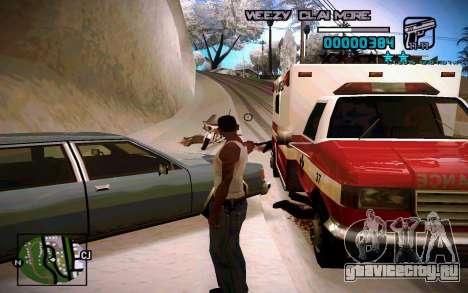 HUD by Weezy для GTA San Andreas