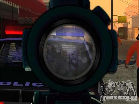 Sniper Skope Mod FIX для GTA San Andreas второй скриншот