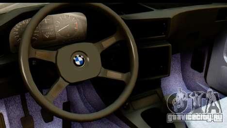 BMW M5 E28 Edit для GTA San Andreas вид справа