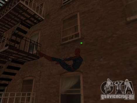 Spiderman Swinging v2.1 для GTA San Andreas третий скриншот
