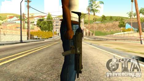 MP5 from GTA 5 для GTA San Andreas третий скриншот