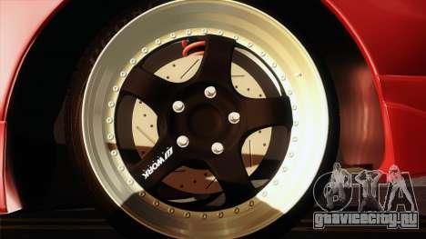 Toyota Celica GT-Four для GTA San Andreas вид сзади