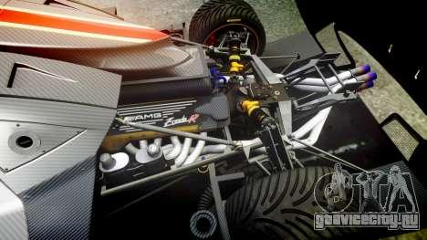 Pagani Zonda Revolution 2013 для GTA 4 вид изнутри