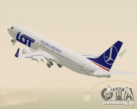Boeing 737-800 LOT Polish Airlines для GTA San Andreas