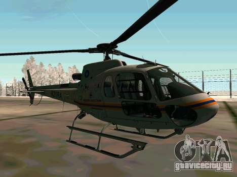 Bo 105 МЧС России для GTA San Andreas вид сзади