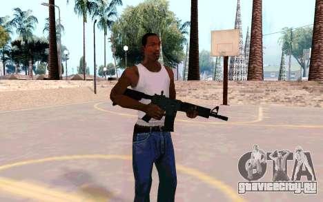 M4A1 (Dodgers) для GTA San Andreas