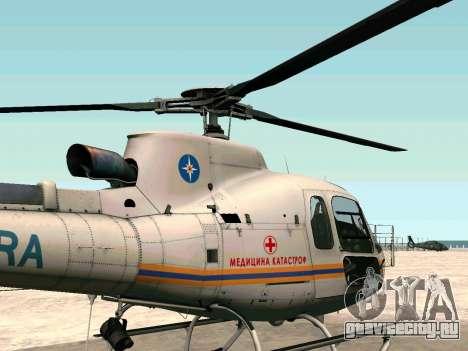 Bo 105 МЧС России для GTA San Andreas вид слева