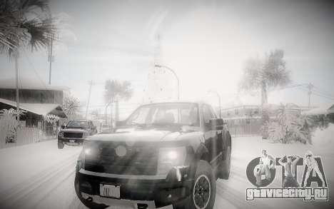 Зимний ENBSeries 2.0 для GTA San Andreas второй скриншот