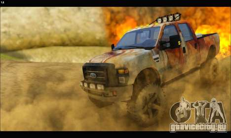 Ford F-250 Rusty Lifted 2010 для GTA San Andreas