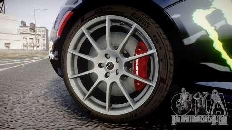 McLaren P1 2014 [EPM] Ken Block для GTA 4 вид сзади