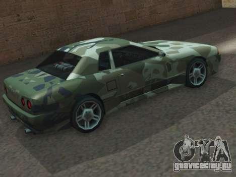 Elegy GTR для GTA San Andreas вид слева