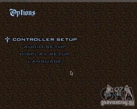 Minecraft Меню для GTA San Andreas второй скриншот