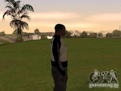 Adidas Honduras Track Jacket для GTA San Andreas третий скриншот