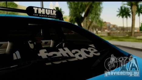 Ford Focus ST для GTA San Andreas вид сзади