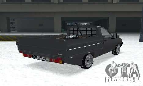 Dacia 1305 Papuc Pick-Up Drop Side 1.9D для GTA San Andreas вид слева