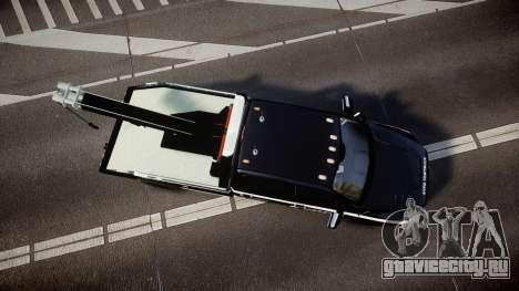 Dodge Ram 3500 NYPD [ELS] для GTA 4 вид справа