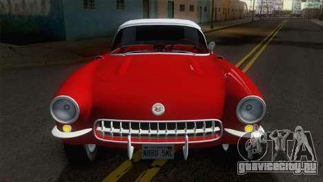 Chevrolet Corvette C1 1957 для GTA San Andreas вид справа