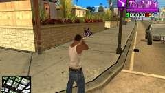 C-HUD Ballas by Inovator для GTA San Andreas