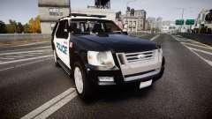 Ford Explorer 2008 Police [ELS]