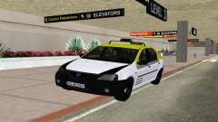 Dacia Logan Taxi для GTA San Andreas