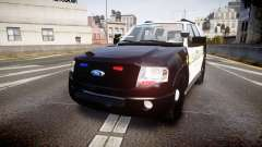 Ford Expedition 2010 Sheriff [ELS] для GTA 4