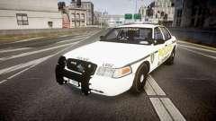 Ford Crown Victoria Police Alderney [ELS] для GTA 4
