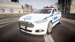 Ford Fusion 2014 NYPD [ELS] для GTA 4
