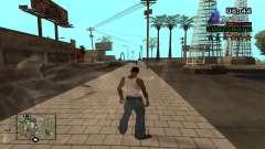 C-HUD By.Kidd для GTA San Andreas
