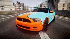 Ford Mustang Boss 302 2013 Gulf