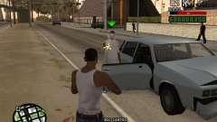 Удобный C-HUD для GTA San Andreas