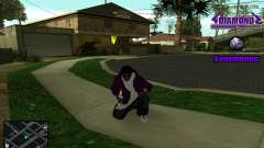 C-HUD Diamond Gangster для GTA San Andreas