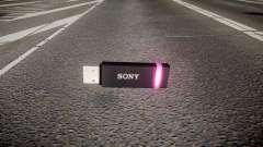 USB-флеш-накопитель Sony purple
