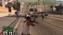 Classic C-HUD 3.4 by Niko для GTA San Andreas