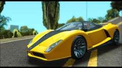 Grotti Cheetah v3 (GTA V) (IVF) для GTA San Andreas