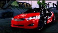 Toyota Corolla 2012 LOJACK Racing для GTA San Andreas