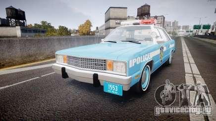 Ford Fairmont 1978 Police v1.1 для GTA 4