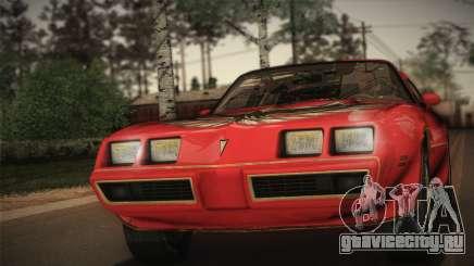 Pontiac Turbo Trans Am 1980 Bandit Edition для GTA San Andreas