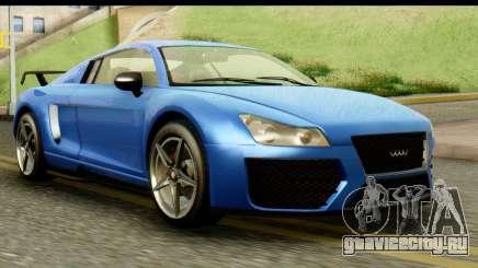 GTA 5 Obey 9F Coupe IVF для GTA San Andreas