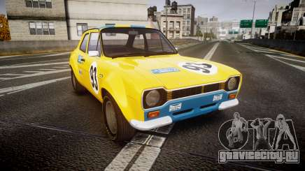 Ford Escort RS1600 PJ93 для GTA 4