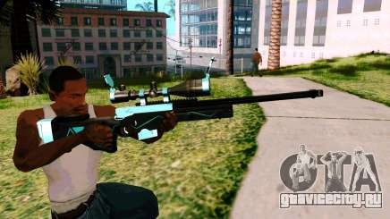 Blue Line Sniper для GTA San Andreas