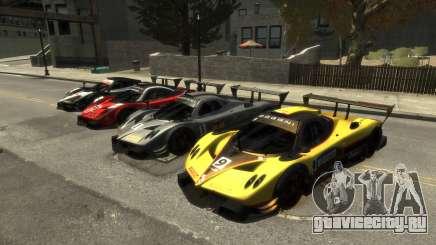 Pagani Zonda R для GTA 4