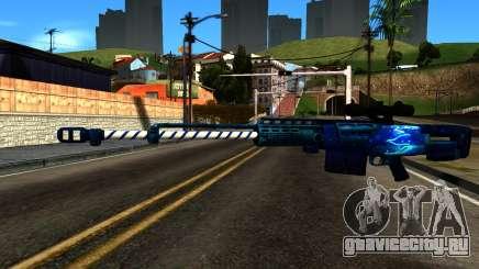 New Year Sniper Rifle для GTA San Andreas