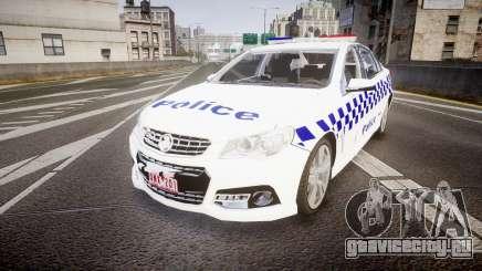 Holden VF Commodore SS Victorian Police [ELS] для GTA 4