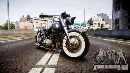 BMW R75 black-and-whites tires для GTA 4