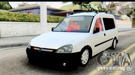 Opel Combo Delta Garage для GTA San Andreas