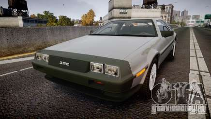 DeLorean DMC-12 [Final] для GTA 4